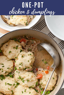 One-Pot Chicken and Dumplings | by Smells Like Home