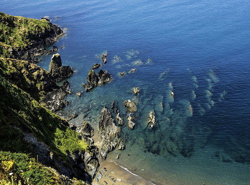 southwestcoatpath cornwall england uk coast coastal cliffs rocks sand sea textures desimage highview