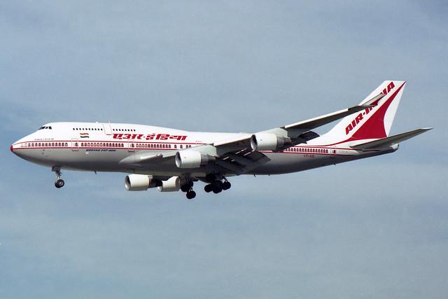 Air-India  Boeing 747-412 VT-AIE