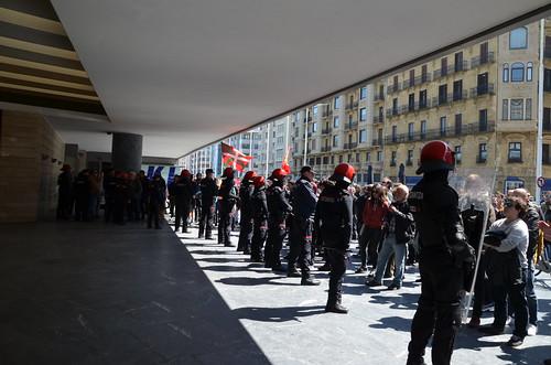 Voxen aurkako manifestazio antifaxista