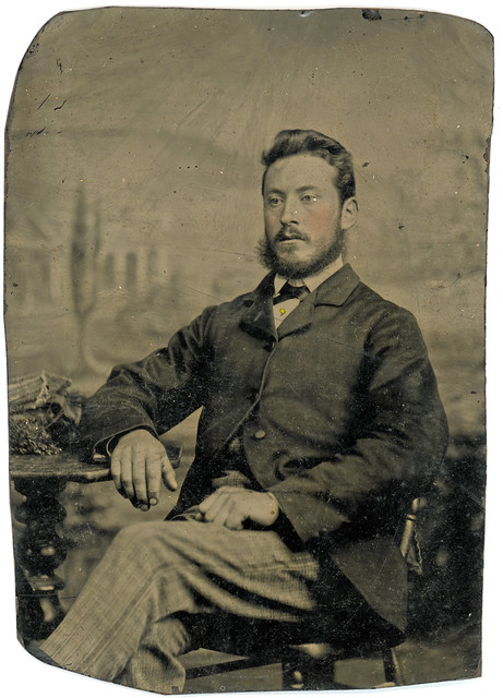 Unidentified Tintype Photograph