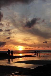 Polzeath sunset