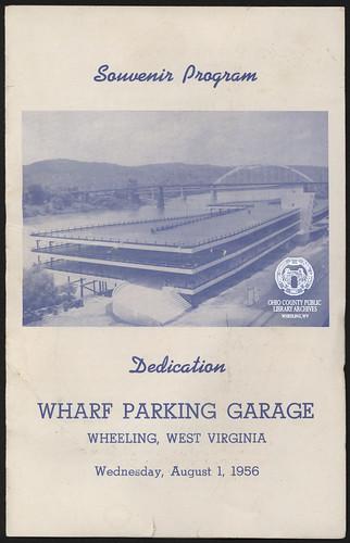 wheelingwv wheeling wharf wharfparkinggarage parkinggarage parkinggarages waterstreet ohioriver transportation