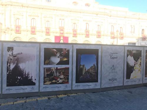 VI Muestra de fotografías vineladas en la Semana Santa de Sevilla (3)   by fundacioncajasol