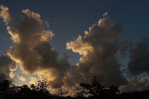 sky clouds weather merimbula cloudsstormssunsetssunrises