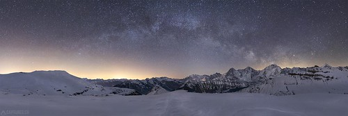 Panorama at night - Lobhörner | by Captures.ch