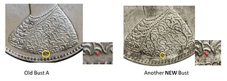British Indian Half Rupee Bust Variety image09 Old Bust A Another NEW Bust | by Numismatic Bibliomania Society