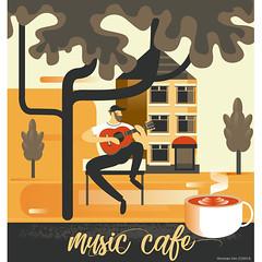 Music cafe by Wonman Kim