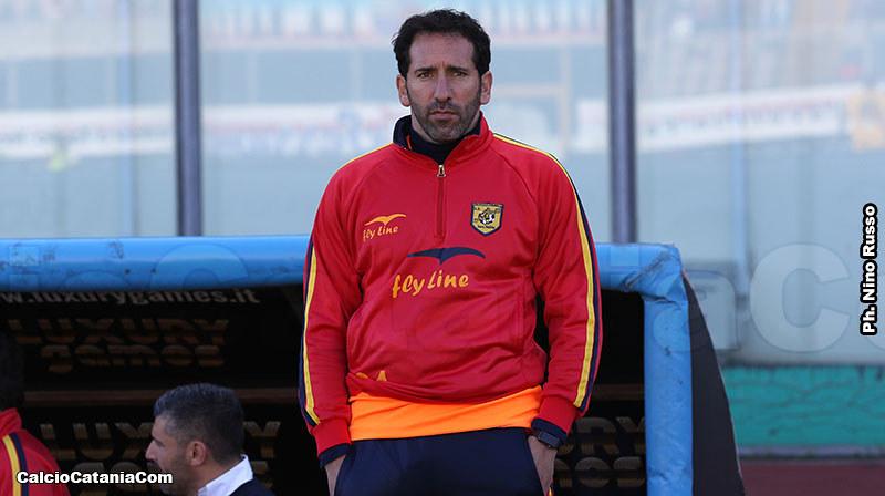 Fabio Caserta, rossazzurro dal 2004 al 2007, alla seconda promozione da allenatore