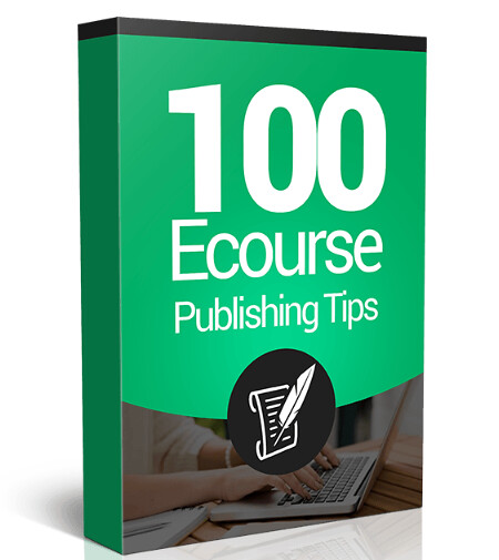 100 Ecourse Publishing Tips