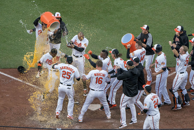 Baltimore Orioles Opening Day Walk-Off Win