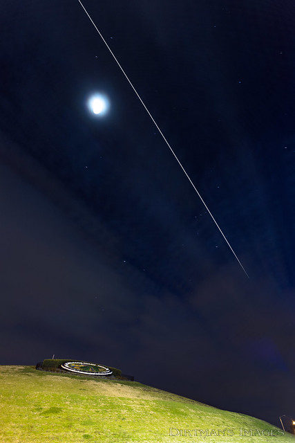 ISS over Mt. Trashmore