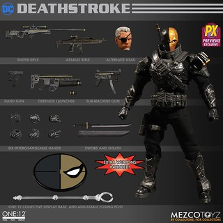 Mezco 1:12 - Stealth Deathstroke PX Exclusive | by manumasfotografo