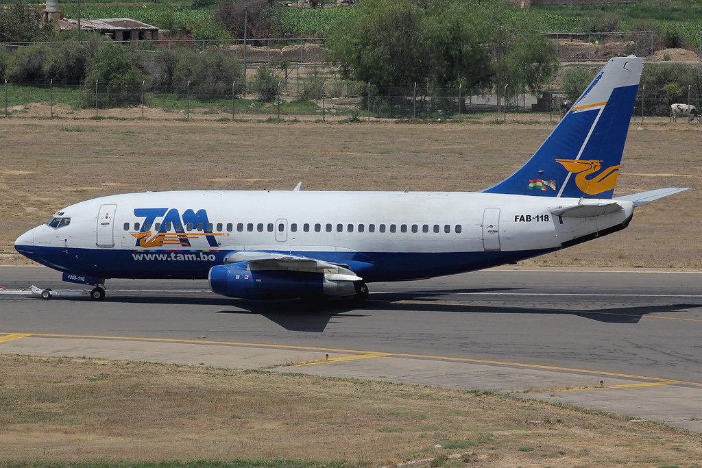 FAB-118 | Boeing 737-230A | TAM - Transporte Aéreo Militar