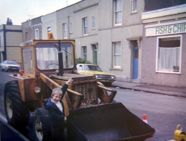 Goodhind Street, Easton, Bristol, 1983