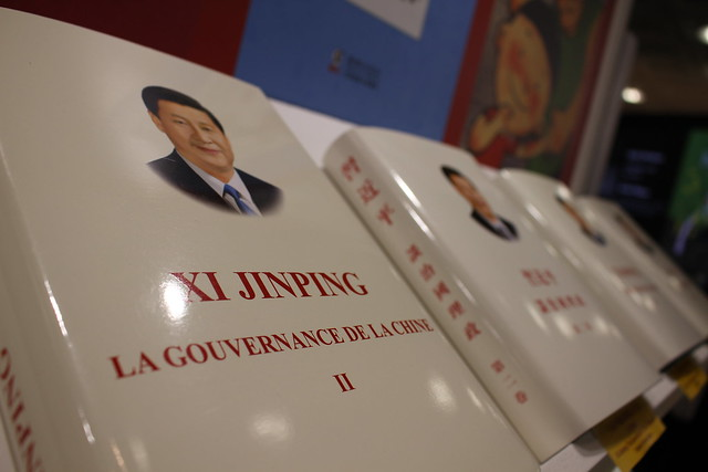 Xi Jinping - London Book Fair 2018