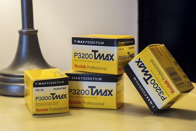 CCR:FRB - Review 27 - Kodak TMax P3200