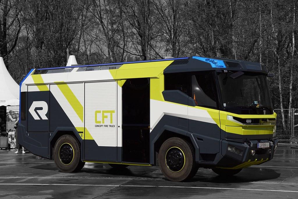 Rosenbauer Concept Fire Truck (CFT)   Rosenbauer Concept Fir