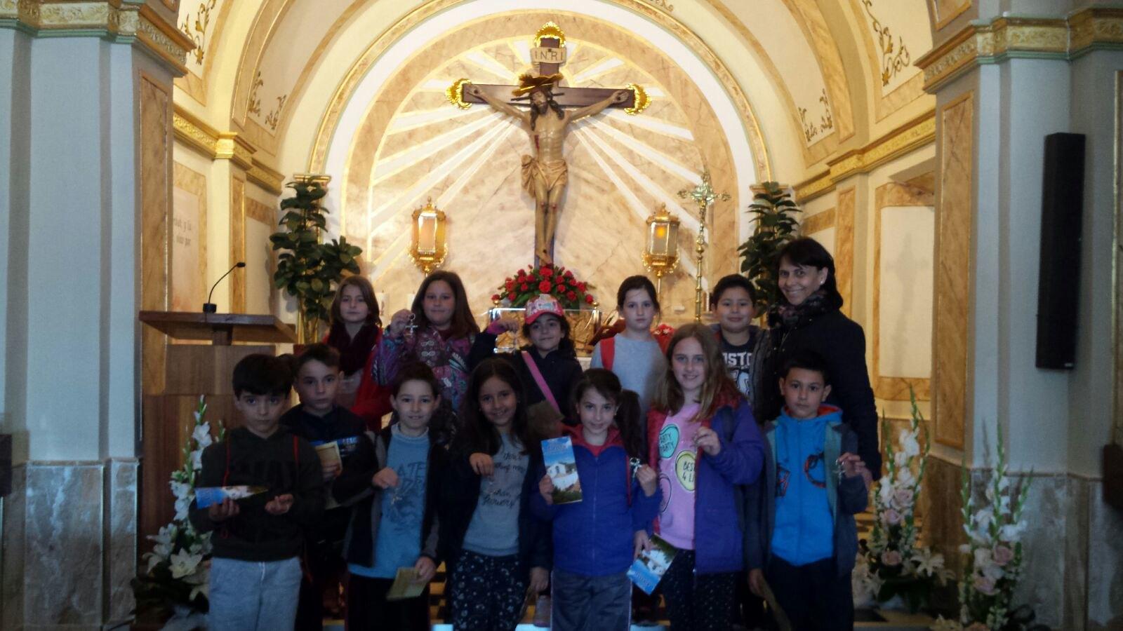 (2018-03-16) - Visita ermita alumnos Laura,3ºB, profesora religión Reina Sofia - Marzo -  María Isabel Berenguer Brotons (04)