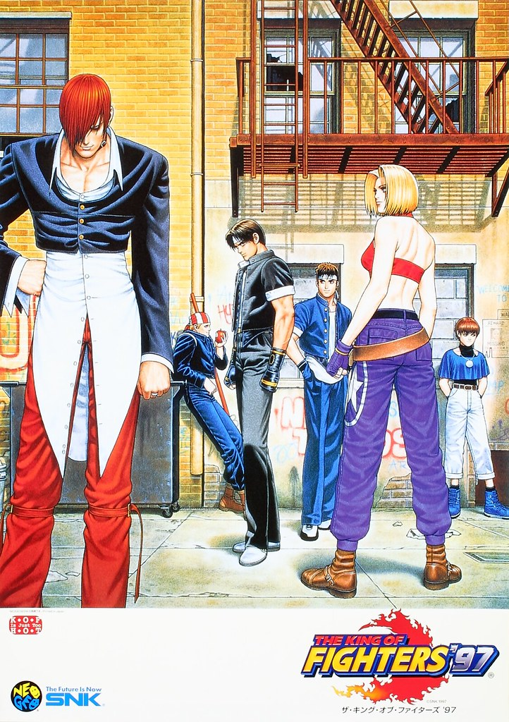 The King of Fighters '97 Poster | PlayStation.Blog | Flickr