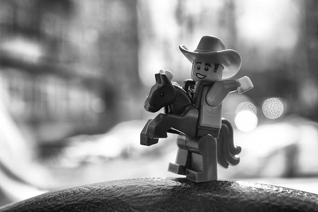 Lego Cowboy Minifigure 18 series