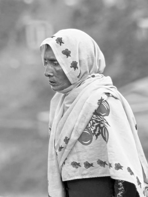 rohingya woman in mega-camp