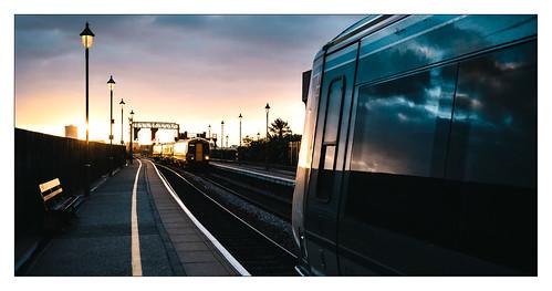 birminghammoorstreetstation chilternrailways class168 class172 dmu dieselmultipleunit passengertrain westmidlands westmidlandstrains