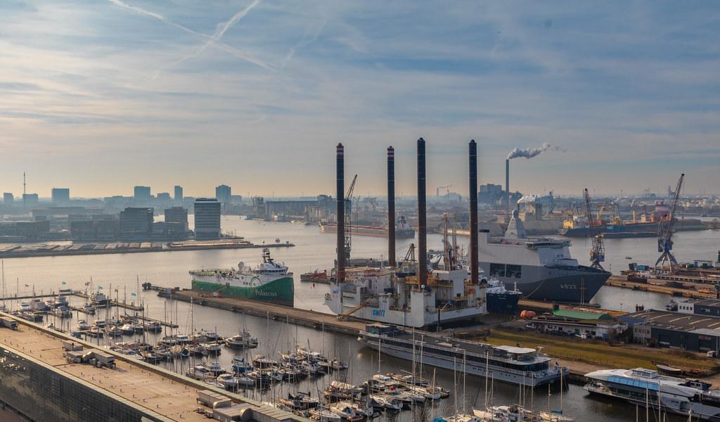 Amsterdam harbour