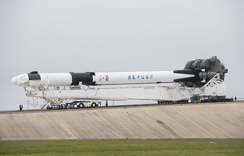 SpaceX Demo-1 Rollout (NHQ201902280006) | by NASA HQ PHOTO