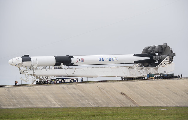 SpaceX Demo-1 Rollout (NHQ201902280006)