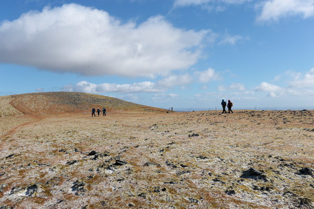 On the Ben Chonzie plateau
