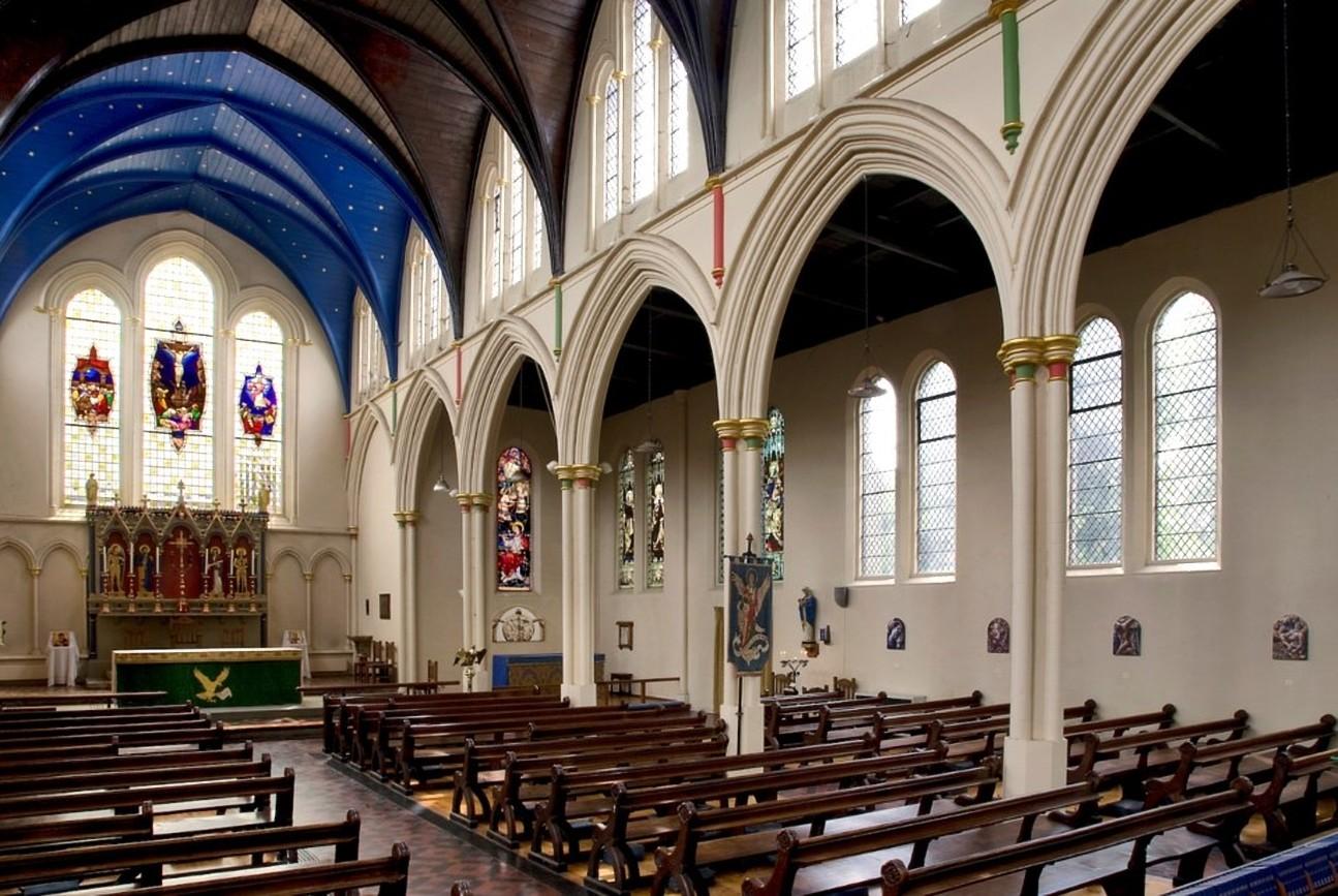BURY ST EDMUNDS, St John the Evangelist, interior