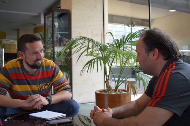 Entrevista a Fede Vidal, seleccionador nacional de fútbol sala