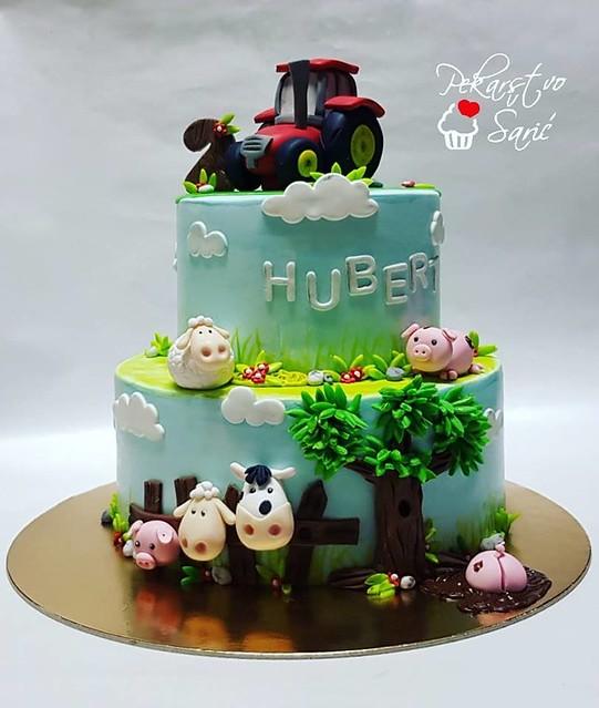 Cake by Ana Šarić of Pekarstvo Šarić
