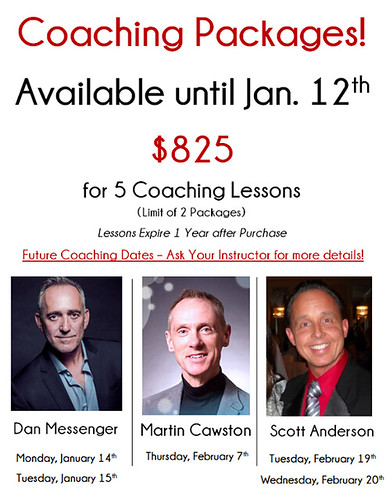 💃 Coaching Packages Available Now! 💃 - http://bit.ly/2M38K5X | by celebritydance