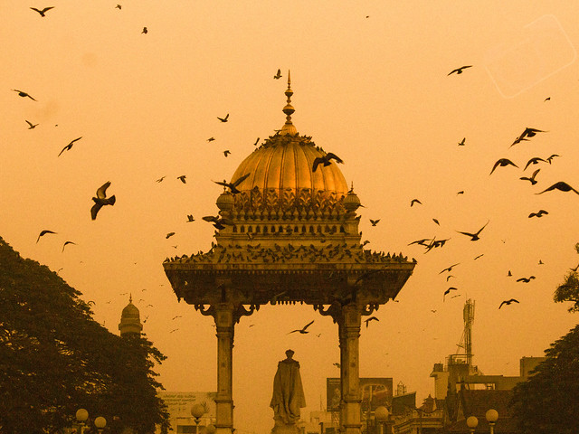 This is the image captured in Mysuru , which is in Karnataka, India. The beauty of this city is we can still see n feel the glory of the Wadeyer times