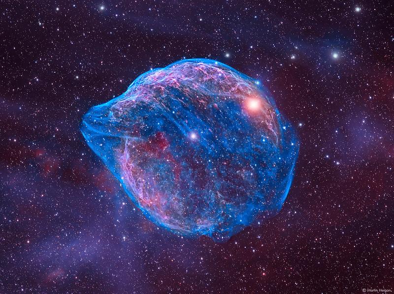 Sharpless 308 (the Dolphin Nebula)