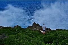 Niue sea spray