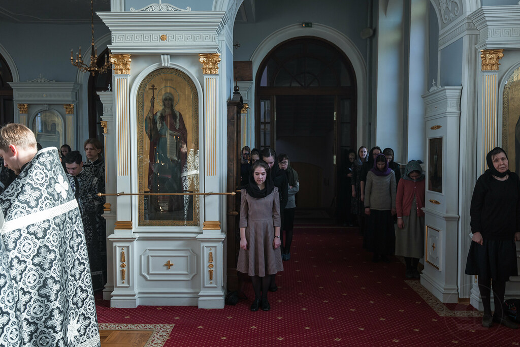 14 апреля 2019, Пассия / 14 April 2019, The service of the Passion of Christ
