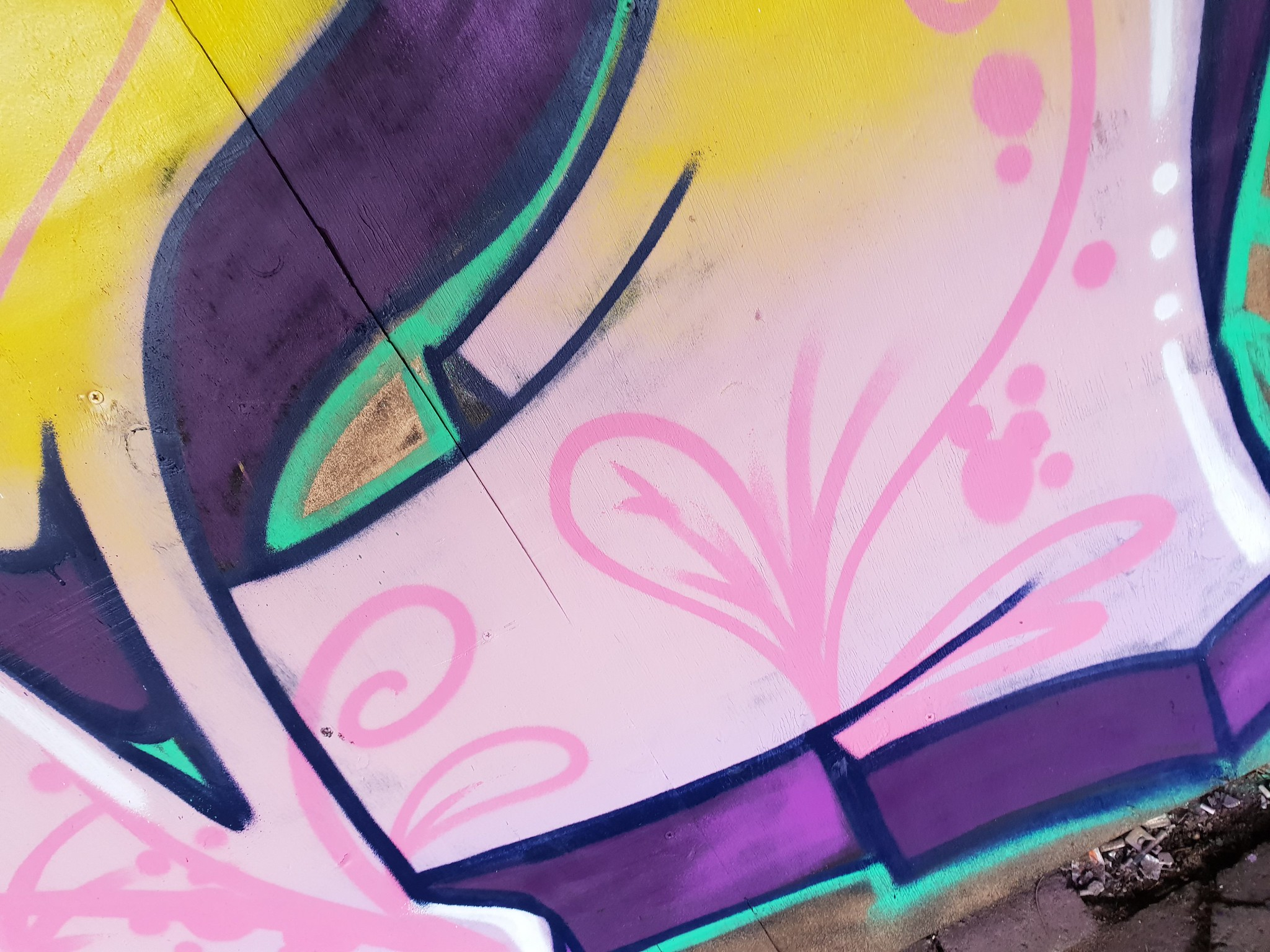 Unity street art 2019
