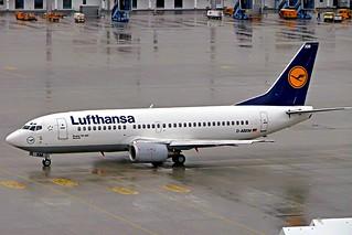 D-ABXM   Boeing 737-330 [23871] (Lufthansa) Munich-Franz Josef Strauss~D 19/04/2005