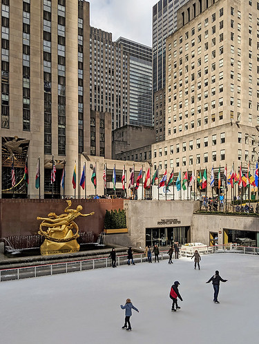 New York City Rockefeller Rink | by Aviller71