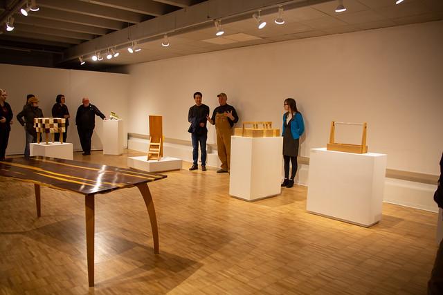 3/8/2019 - '나무 (Wood)' Art Opening