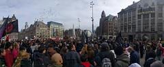 Dam Square Panorama #samentegenracisme #unitedagainstracism