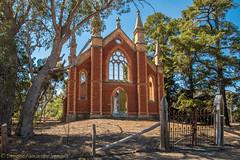 Tarnagulla - Wesleyan Methodist Church ruins