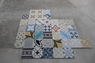 Tiles on terrace   by isapisa