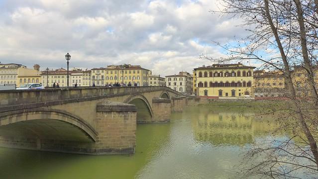 Florence - Firenze - Ponte alla Carraia - Arno River