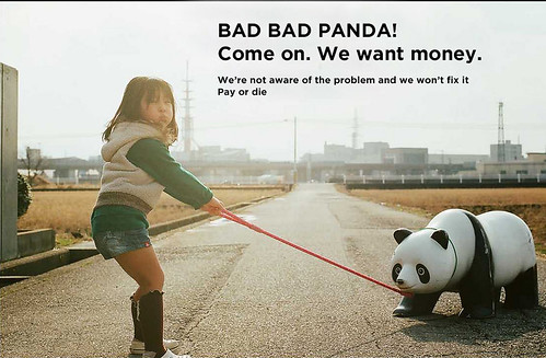 Bad panda... oh very very bad panda... you're too greedy ! | by galibert olivier