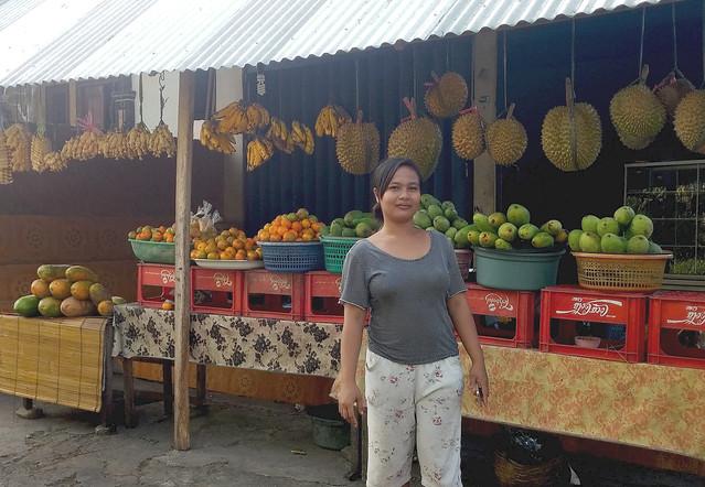 Fruit Vendor, Singaraja, Bali