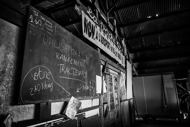 [#20180117 #NDDL #zad] VINCI VAINCU : depuis la campagne présidentielle, la Vache Rit est redevenue propriété privée.